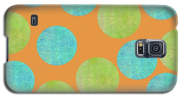 Malaysian Batik Polka Dot Print Galaxy S5 Case
