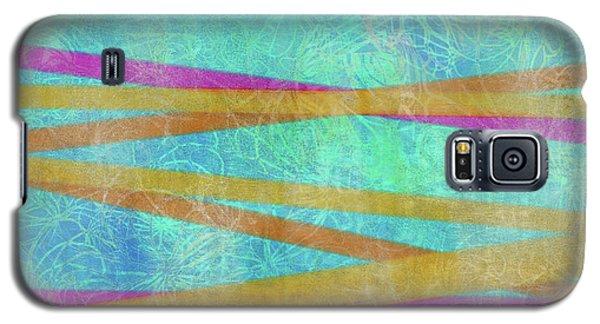 Malaysian Tropical Batik Strip Print Galaxy S5 Case