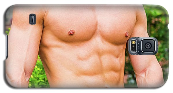 Male Torso 3 Galaxy S5 Case