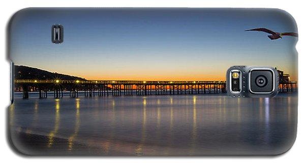 Malibu Pier At Sunrise Galaxy S5 Case