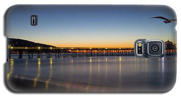 Malibu Pier At Sunrise Galaxy S5 Case