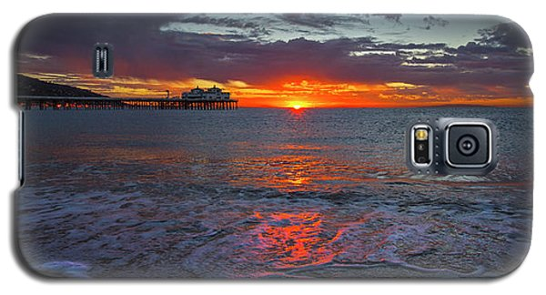 Malibu Pier Sunrise Galaxy S5 Case