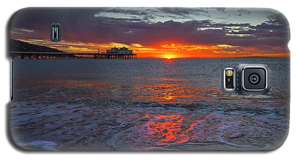 Malibu Pier Sunrise Galaxy S5 Case