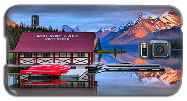 Maligne Lake Sunset Spectacular Galaxy S5 Case