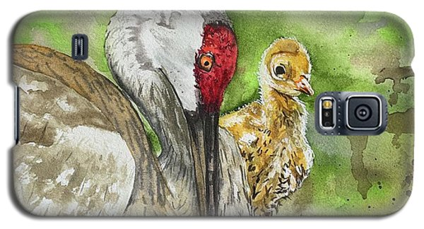 Mama And Chick Galaxy S5 Case