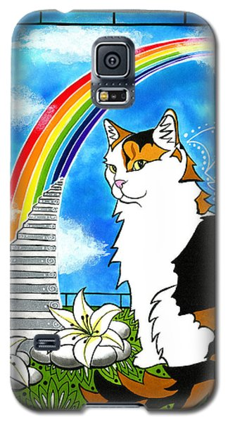 Mama Turtle - Cat Painting Galaxy S5 Case