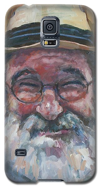 Man With Yellow Hat Galaxy S5 Case