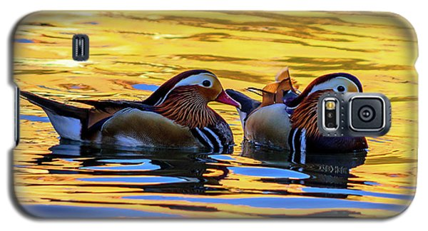 Mandarin Ducks Galaxy S5 Case