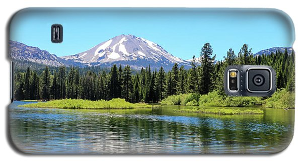 Manzanita Lake Reflection 1 Galaxy S5 Case