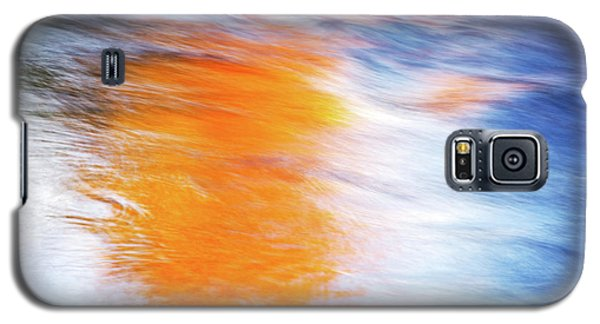 Maple Reflection Fall Galaxy S5 Case