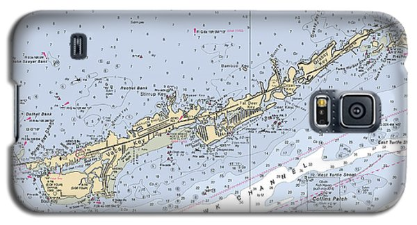 Marathon And Duck Keys Custom Noaa Nautical Chart Galaxy S5 Case