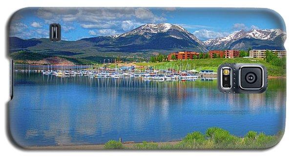 Marina At Lake Dillon Galaxy S5 Case
