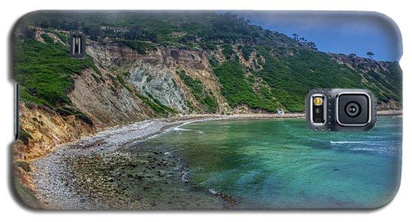 Marine Layer Over Bluff Cove Galaxy S5 Case