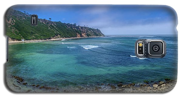 Marine Layer Over Bluff Cove Panorama Galaxy S5 Case