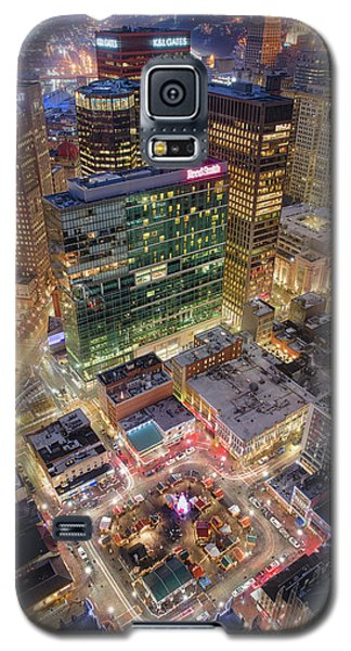 Market Square From Above  Galaxy S5 Case