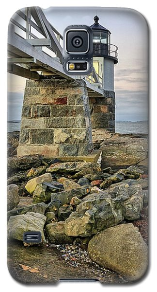 Marshall Point Light From The Rocks Galaxy S5 Case