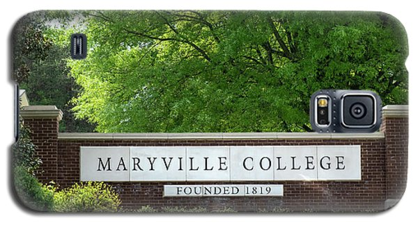 Maryville College Sign Galaxy S5 Case