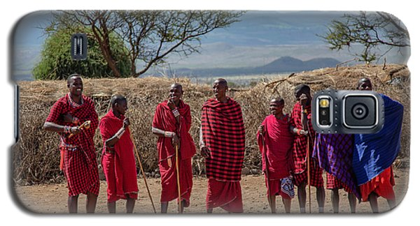 Maasai Men Galaxy S5 Case