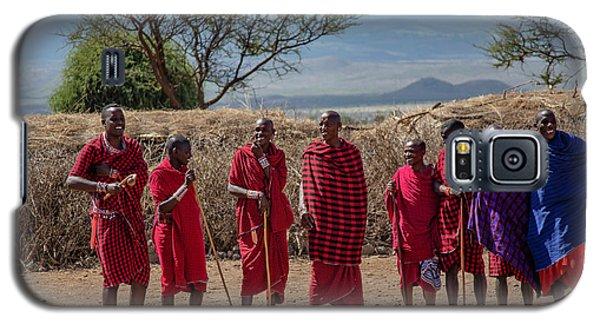 Maasai Men Galaxy S5 Case