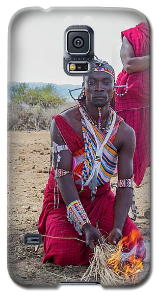 Maasai Warrior Galaxy S5 Case