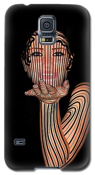 Mask Beautiful Aj Galaxy S5 Case