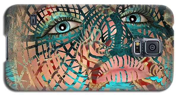 Mask Dreaming Of The Sea Galaxy S5 Case
