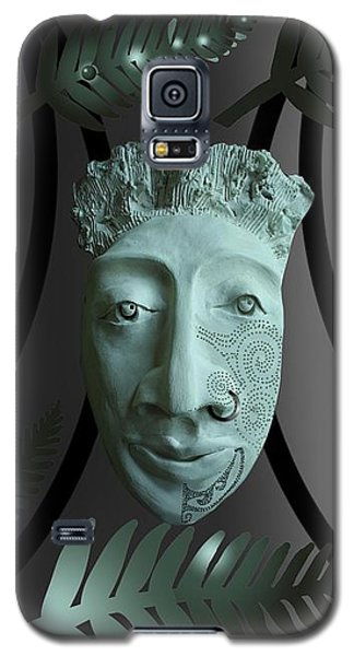 Mask The Maori Warrior Galaxy S5 Case
