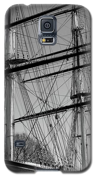 Masts And Rigging Of The Cutty Sark Galaxy S5 Case
