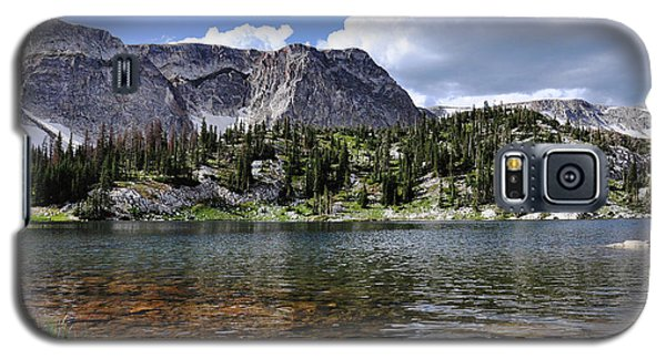 Medicine Bow Peak And Mirror Lake Galaxy S5 Case