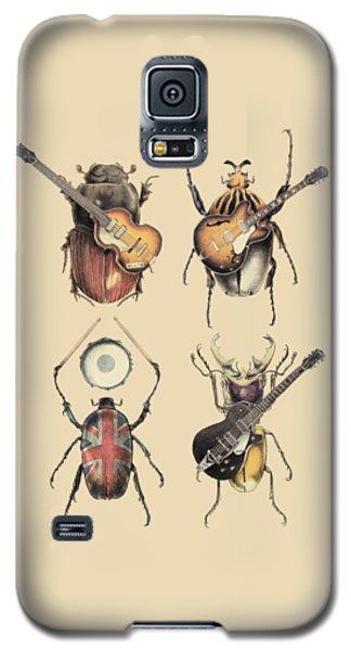 Music Galaxy S5 Case - Meet The Beetles by Eric Fan