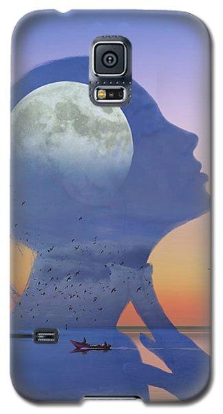 Melting Night Galaxy S5 Case