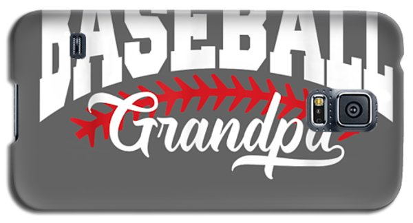 Sport Galaxy S5 Case - Mens Baseball Grandpa T-shirt by Unique Tees
