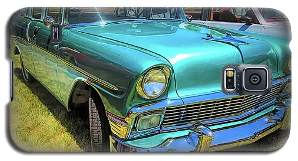 Metallic Green 1956 Chevy Sedan Galaxy S5 Case