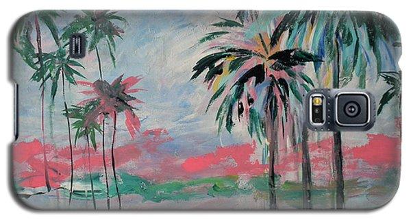 Miami Palms Galaxy S5 Case