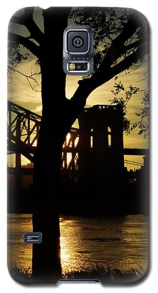 Mid Autumn Silhouette Galaxy S5 Case