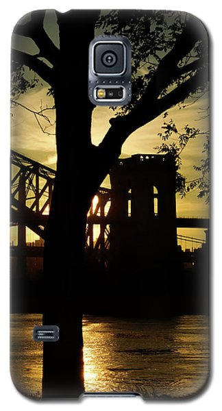 Mid Autumn Silhouette Galaxy S5 Case