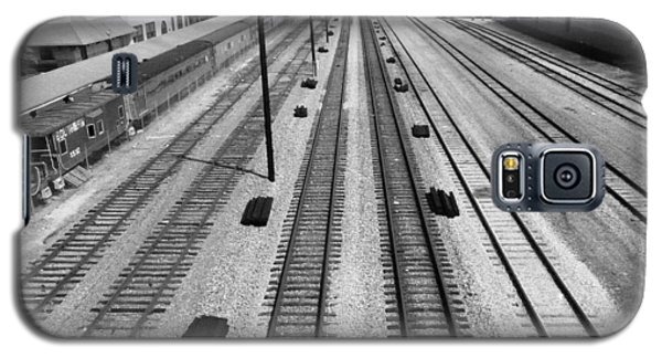 Middle Of The Tracks Galaxy S5 Case
