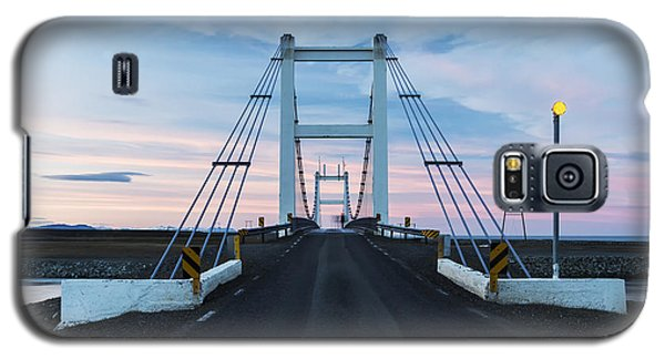 Icy Galaxy S5 Case - Midnight Photo Of The Bridge With The by Nadezda Murmakova