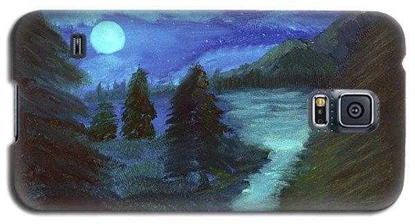 Midnight River Galaxy S5 Case