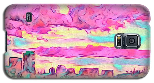 Mile High Sunset Galaxy S5 Case