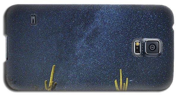 Milky Way And Cactus Galaxy S5 Case