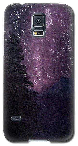 Milky Way Lake Galaxy S5 Case