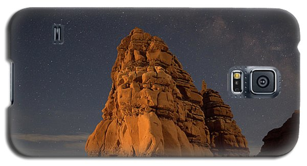 Milky Way On The Rocks Galaxy S5 Case