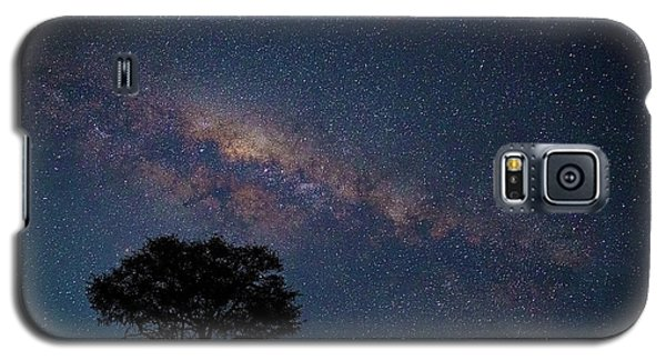 Milky Way Over Africa Galaxy S5 Case