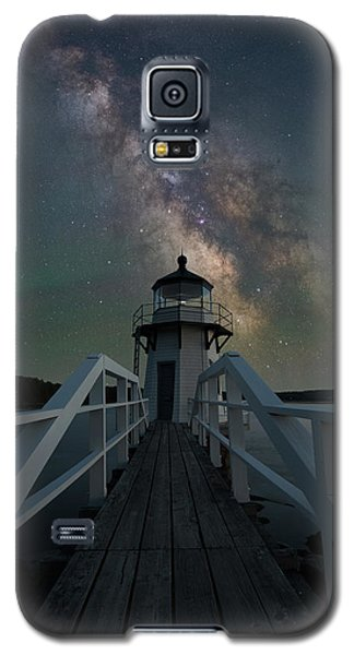 Milky Way Over Doubling Point Galaxy S5 Case