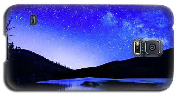 Milky Way Over Springtime Echo Lake Galaxy S5 Case