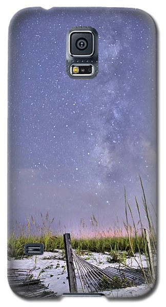 Milky Way Over The Beach Galaxy S5 Case