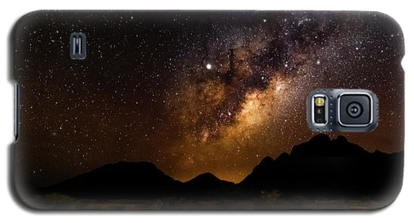 Milkyway Over Spitzkoppe 2, Namibia Galaxy S5 Case