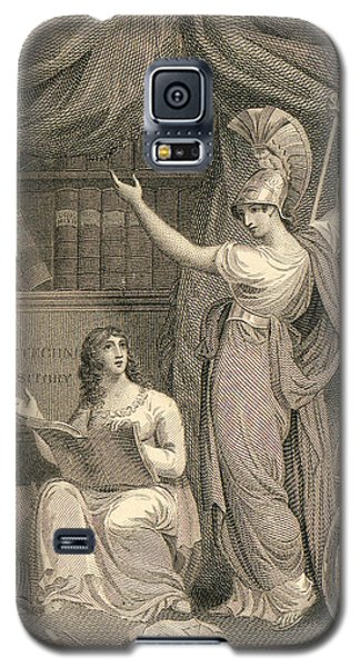 Minerva Directing Study To The  Attainment Of Universal Knowledge Galaxy S5 Case