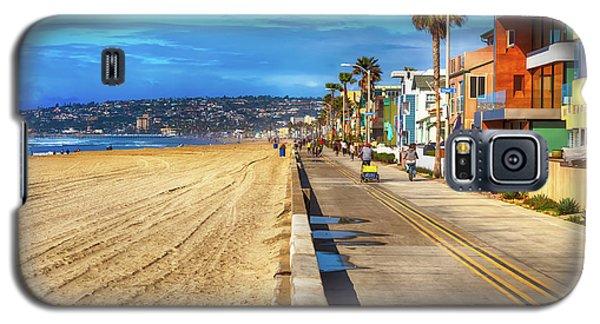 Mission Beach Boardwalk Galaxy S5 Case